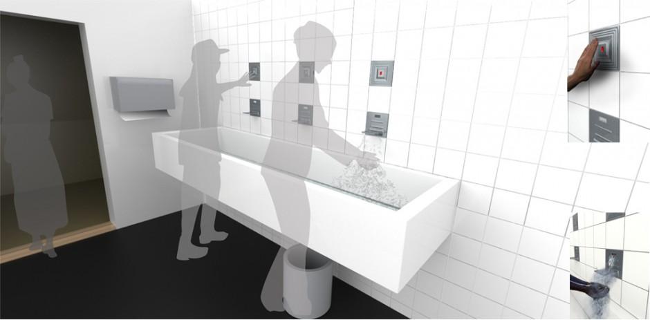 lavabo tile